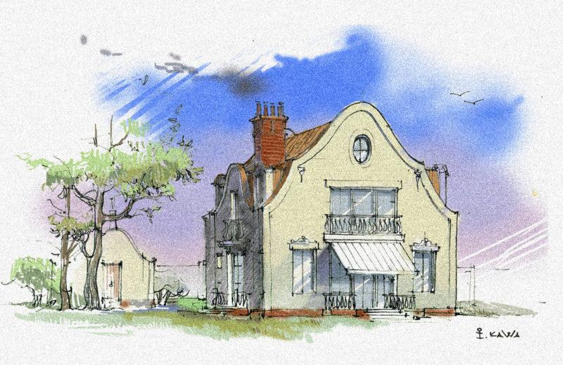 Ескіз будинку