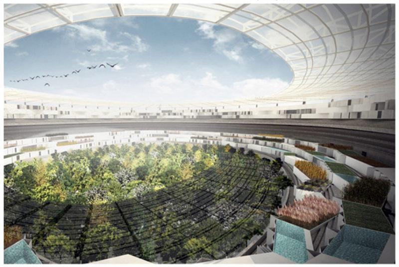 Самодостатнє місто. Ілюстрація міського середовища майбутнього. Частина ІІІ