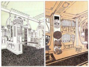 6. Ідея та ілюстрація: Джозеф Хофман 1900