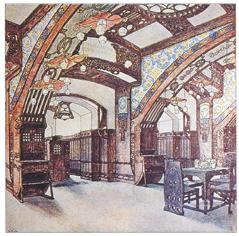 12. Ідея та ілюстрація: Джозеф Урбан 1902