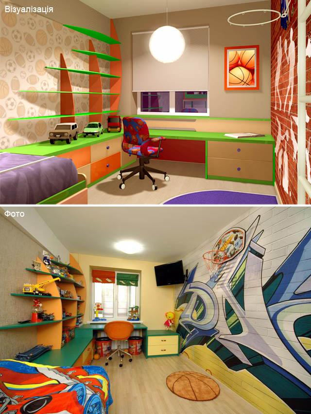 Кімната для хлопчика