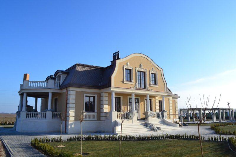 Будинок в класичному стилі. Будівництво. Частина VIII