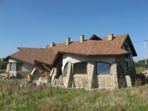 Фото будинку на момент початку робіт по благоустрою території