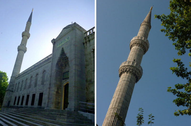 Historical cities. Istambul. Blue Mosque