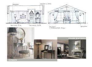 На фото стильові елементи інтер'єру, що можуть надати настрою та виразності новій спальні