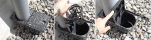 Дощоприймачі водостічних труб.